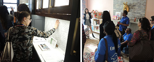 Berkeley College Students See How Interior Designers Create A Community During Tour Of Brooklyn
