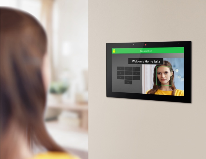 ELAN Intelligent Touch Panel Greeting