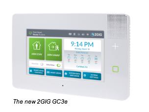 GC3e encrypted smart home control panel