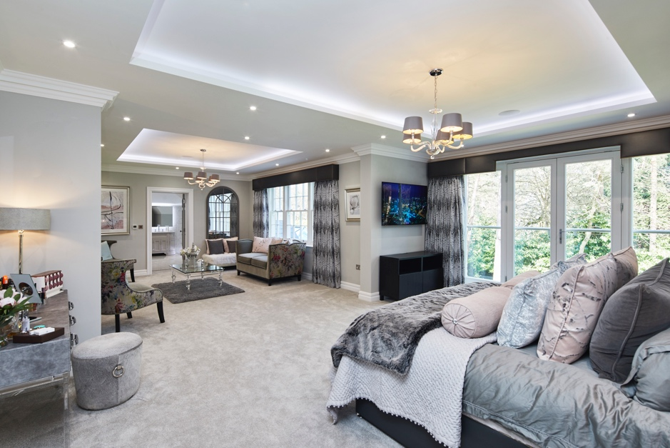 smart home living room